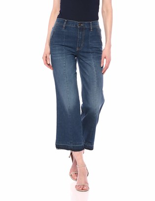 Ella Moss Women's Cropped Wide Leg Denim