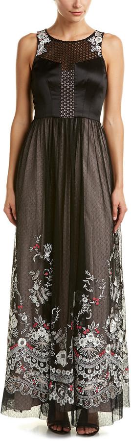 Karen Millen Floral Lace Maxi Dress