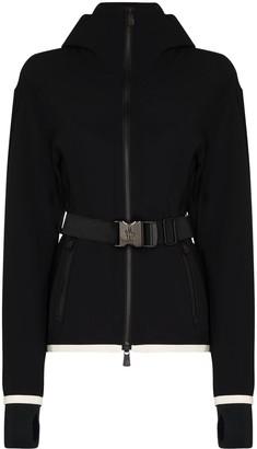 MONCLER GRENOBLE Maglia zip-up ski jacket