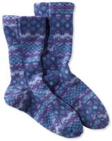 L.L. Bean Adults' Bean's Fleece Socks