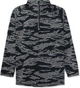 Undefeated Black Camo Technical II Half Zip Jacket