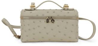 Loro Piana Ostrich Extra Pocket L19 Bag