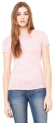 Clementine Apparel Women's Cotton Crewneck Short Sleeve T-Shirt