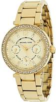 Michael Kors Mini Parker Collection MK6056 Women's Stainless Steel Analog Watch