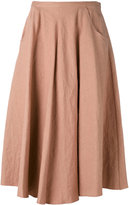 Forte Forte full skirt - women - Cotton/Linen/Flax - I