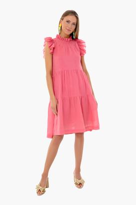 Sea Berry Hattie Ramie Tiered Tunic Dress