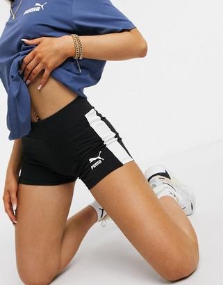 Puma Classic micro shorts in black