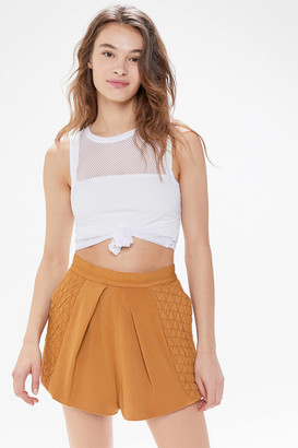 C/Meo Collective Collective Expired Textured High-Waisted Short