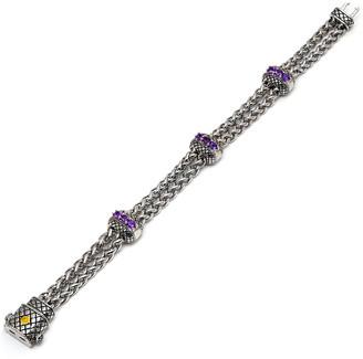 Candela Andrea Regalo 18K & Silver 0.95 Ct. Tw. Amethyst Bracelet