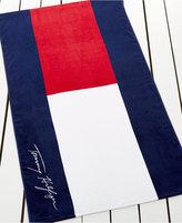 Tommy Hilfiger Cotton Logo Beach Towel