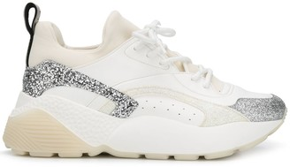 Stella McCartney Elyse glitter sneakers
