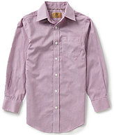 Class Club Gold Label Little Boys 2T-7 Grid Pattern Woven Shirts