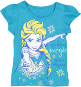 Children's Apparel Network Frozen 'A Sprinkle of Magic' Angel Sleeve Tee - Toddler