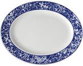 Caskata Marble Platter - White/Blue