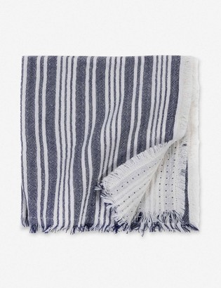 Lulu & Georgia Pom Pom at Home Yountville Napkin, Navy (Set of 4)