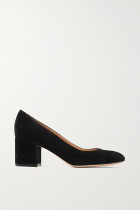 Gianvito Rossi Gilda 60 Suede Pumps - Black