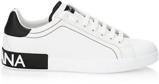 Dolce & Gabbana Portofino Leather Sneakers
