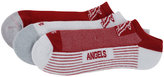'47 Los Angeles Angels of Anaheim 3-Pack No-Show Socks
