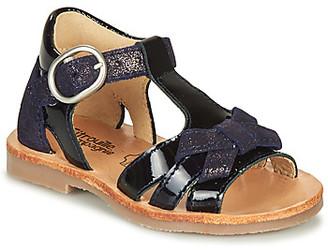 Citrouille et Compagnie MOLINETTE girls's Sandals in Blue