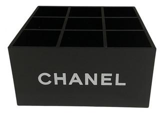 Chanel Black Plastic Home decor