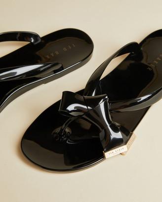 Ted Baker LUZZI Bow detail flip flops