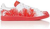 adidas Women's Women's Stan Smith Palm Tree Sneakers-RED