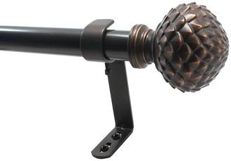 Decopolitan Artichoke Drapery Rod Set - 36''-72''