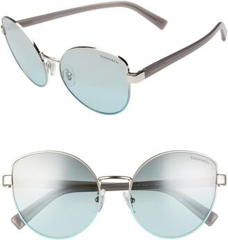 Tiffany & Co. 56mm Cat Eye Sunglasses