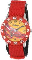 Disney Kids' W000084 Cars Stainless Steel Time Teacher Watch