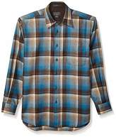 Pendleton Woolen Mills Pendleton Men's Long Sleeve Button Front Classic Lodge Shirt