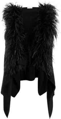 Fabiana Filippi hooded sleeveless cardigan