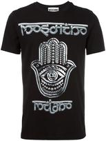 Moschino hamsa hand T-shirt - men - Cotton - XL