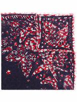 Alexander McQueen butterfly print scarf - women - Silk/Modal - One Size