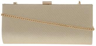 Collection Nefertiti Lock Gold Clutch Bag