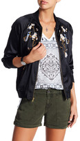 Lucky Brand Embroidered Bomber Jacket