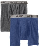 Jockey Kids - Cotton Performance Boxer Brief 2-Pack Boy's Underwear