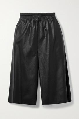 MM6 MAISON MARGIELA Faux Leather Shorts