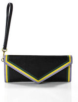 Marc Jacobs Jacobs By Black Leather Wrislet Wallet