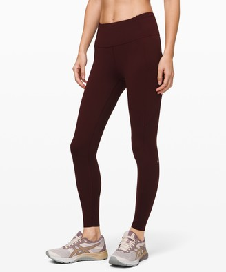 """Lululemon Fast and Free High-Rise Tight 28"""" *Non-Reflective Brushed Nulux"""