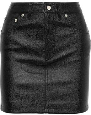 IRO Newa Leather Mini Skirt