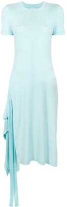 Rosetta Getty elongated draped T-shirt