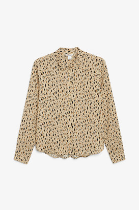 Monki Classic button-up blouse