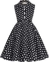 GRACE KARIN Little Girls Summer Pleated Cotton Dresses 8yrs