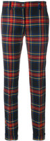 P.A.R.O.S.H. tartan tailored trousers