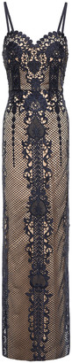 Catherine Deane Macrame Lace Gown