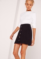 Missguided Petite Crew Neck Ribbed Long Sleeved Top White