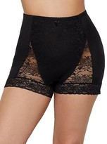 Ahh By Rhonda Shear Pin-Up Lace Tummy Control High-Waist Boyshort