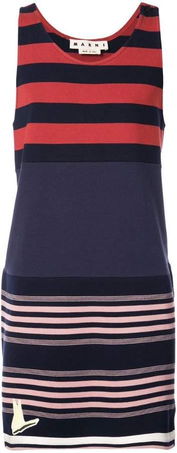 Marni striped tank sweatshirt