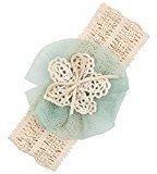 Headbands, Aribelly Cute Baby Girls Headband Elastics For Elastic Hair Head Band (Green)