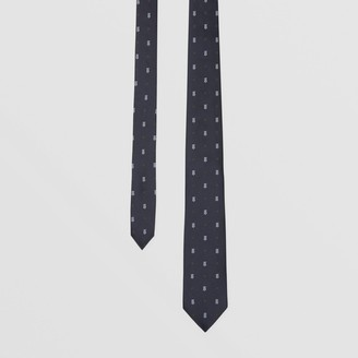 Burberry Classic Cut Star and Monogram Motif Silk Tie